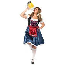 Beer Girl Costume Adult Oktoberfest Maiden German Halloween Fancy Dress
