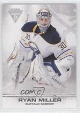 2011-12 Panini Titanium #15 Ryan Miller Buffalo Sabres Hockey Card