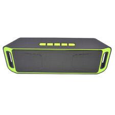 Mini altavoz Bluetooth inalámbrico USB TF FM AUX U disco manos libres bajo