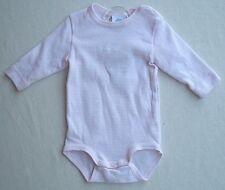SANETTA   Body Rundhals  1/1 Arm rosa weiß gestreift Gr. 50   UVP 11,95 €