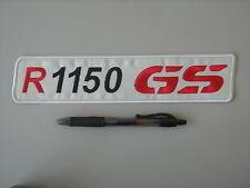 BMW GS R 1150 ROSSA PATCH RICAMATA TERMOADESIVA CM.25X5,5