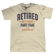 Retired Mens Funny T Shirt - Retirement Gift for Him Dad Grandad