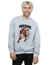 Marvel Hombre Awesome Iron Man Camisa De Entrenamiento