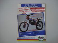 advertising Pubblicità 1986 MOTO FANTIC TRIAL 50
