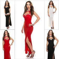Sexy Koucla Cocktail Kleid Abendkleid Maxikleid Party Dress Spitze Strass