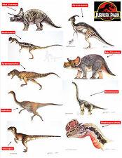 Jurassic Park Collection Limited Edition Art Prints (Individual Dinosaur Prints)