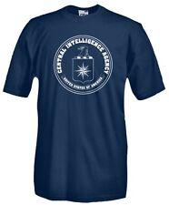 T-Shirt girocollo manica corta Military MT36 CIA USA Central Intelligence Agency