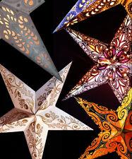 Adventsstern Weihnachtsstern Papierstern Leuchtstern 60cm optionale Elektrik