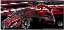 Go kart race car vinyl graphic decal wrap #SW