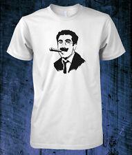 T-SHIRT Groucho MARX cigar stencil art 1930s comedy