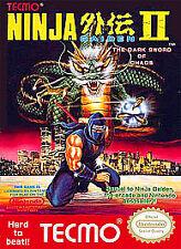 NINJA GAIDEN II TWO 2 ORIGINAL GAME NINTENDO NES HQ