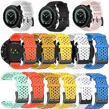 Soft Silicone Watch Band Straps for Spartan Sport/Sport wrist hr/Suunto9 baro