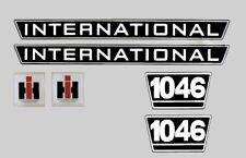 IHC Mc Cormick Traktor Aufkleber international 1046 Emblem
