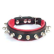 Bestia Echtleder Hundehalsband. Für Welpen oder kleine Hunde. 100% Handarbeit