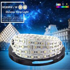 5m LED Stripe 12V 24V Dimmbar RGB RGB+WW RGB+CW RGBWW SMD5050 IP65 Streifen Band