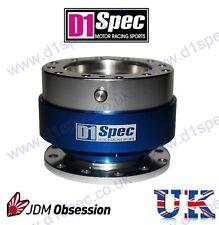 D1 SPEC STEERING WHEEL QUICK RELEASE BLUE CIVIC SKYLINE RX7 180SX 200SX 240SX