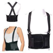 maintien dos ceinture double fermeture sangles lombaire bretelles