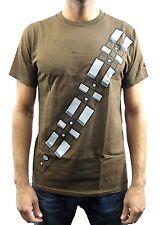 Star Wars Chewbacca Costume Brown Men's T-Shirt New
