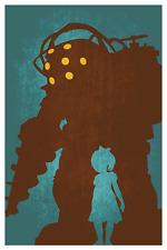 BioShock - Minimalist Poster T059  A4 A3 A2 A1 A0 