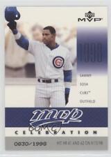 2003 Upper Deck MVP Celebration #MVP70 Sammy Sosa Chicago Cubs Baseball Card