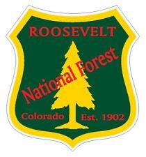Roosevelt National Forest Sticker R3296 Colorado
