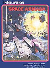 Space Armada (Intellivision, 1981) RARE COMPLETE GAME