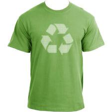 Recycle Circle Logo T Shirt - Novelty Recycling Logo Tee