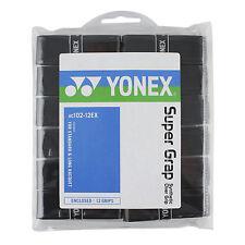 Yonex Super Y Overgrip Tenis Badminton-Pack De 12-Varios Colores