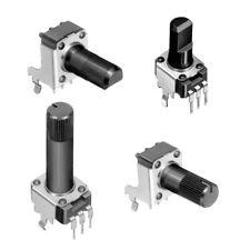 Kohleschicht-Potentiometer für Printmontage Serie ALPS RK09K/RK09D, 10/50 kOhm