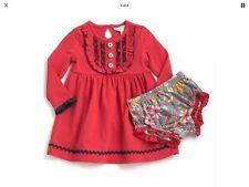 Matilda Jane INSPIRE Dress 6-12 12-18 18-24 Months + Diaper Cover NWT Christmas