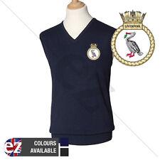 Liverpool - Navy - Short Sleeve Jumper - Tank Top