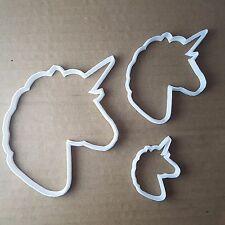 UNICORNO Cavallo Mitico Forma Cookie Cutter Animale Biscotto Pasticceria FONDENTE SHARP