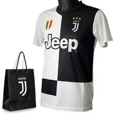 Juventus Maglia Tifoso 2019/20 Numero 7 Ronaldo CR7 Uomo / Bambino + Sacchetto