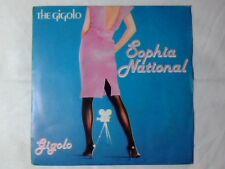 "THE GIGOLO Sophia national 7"" CRISTIANO MALGIOGLIO ITALO DISCO RARISSIMO"