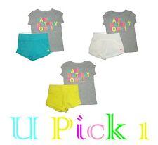 Carters Shorts Shirt Happy Birthday to Me 2 piece Set Girls Toddler Short Pants