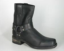 9795 corto Sendra de botas motorista estrella negra de negro