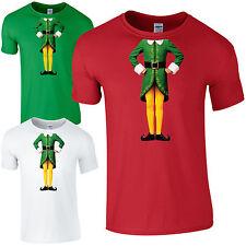 Elf Body T-Shirt - Cute Christmas Humour Funny Buddy Festive Gift Kids Mens Top