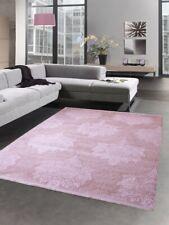 Carpet design wool carpet ornaments baroque fringes pink rose Dywan