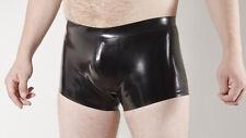 Rubber SHORTS  0.5mm medium weight latex, plain colours, contrast waistband