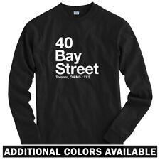 Toronto Basketball Stadium Long Sleeve T-shirt - LS Men S-4X - Raptors Ontario