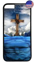 Cross Jesus Christ Heaven Christian Case Cover iPhone Xs Max XR X 8 7 6 Plus 5 4