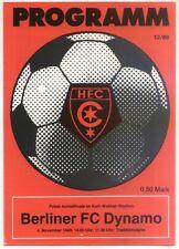 FDGB-Pokal 89/90 HFC Chemie - BFC Dynamo (04.11.1989)