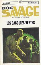 EO KENNETH ROBESON + JIM BAMA  + DOC SAVAGE N° 22 : LES CAGOULES VERTES
