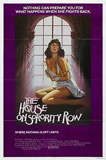 The House on Sorority Row Movie POSTER (1983) Slasher/Thriller