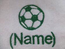 FUßBALL Bestickt bis zu Handtücher,Kapuzen Handtuch,Bade Gewand mit