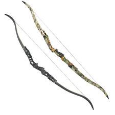 "64"" Archery ILF Recurve Bow 30-60lbs Takedown Aluminum Alloy Riser Hunting F166"