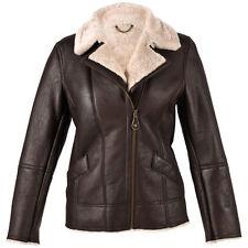 Ladies Mepal Sheepskin Coat Flying Jacket Aviator