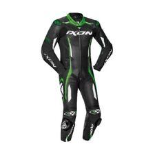 Ixon Vortex 2 Nero/Bianco/Kawasaki pelle Verde Ce Moto Tuta da Gara