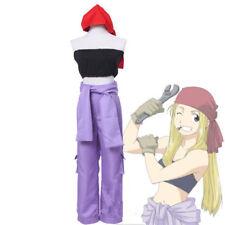 Anime Fullmetal Alchemist Winry Rockbell Machinist Cosplay Costume