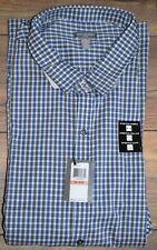 Van Heusen Flex Hemd Knöpfe Nicht Bügeln Klassische Passform Blue Monday